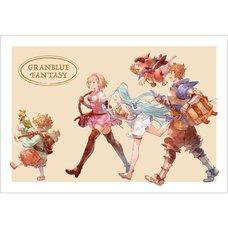 Granblue Fantasy Summer Fes 2018 Postcard