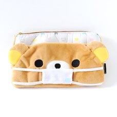 Rilakkuma Fuwaraku Mask Pouch