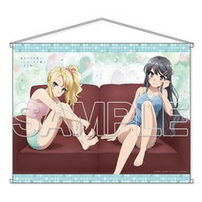Rascal Does Not Dream of Bunny Girl Senpai Mai & Nodoka B2 Tapestry