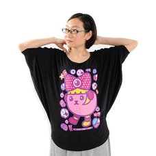 Mameshi-Pamyu-Pamyu  Deka-Pamyu Dolman T-Shirts