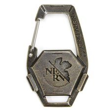 Evangelion NERV Relief Carabiner