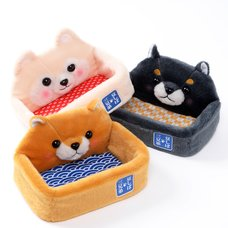 Mameshiba San Kyodai Dog Multiuse Trays