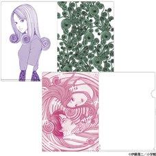 Junji Ito Uzumaki Clear File Set
