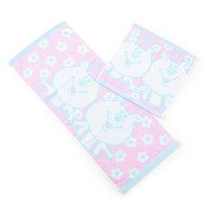 Kumatan Jacquard Hand & Face Towel Set (Pink)