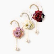 gargle Wild Rose Ear Hooks