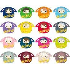 UsaDaru Mini IDOLiSH 7 Plush Keychain Collection