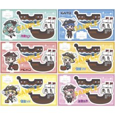 Vocaloid Pirate Yurayura Acrylic Stands