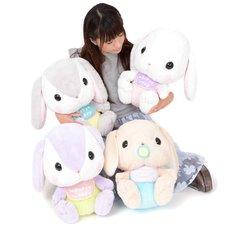 Pote Usa Loppy Baby Rabbit Plush Collection (Big)