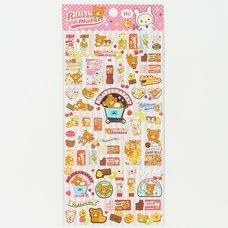 Rilakkuma Rilakku Market Stickers (Pink)