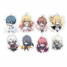 Dies Irae Sparkling Acrylic Keychain Charm Collection Box Set