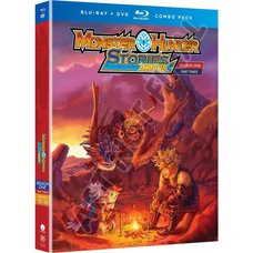 Monster Hunter Stories: Ride On Season 1 Part 3 Blu-ray/DVD Combo Pack