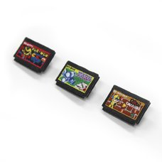 Namco Museum Cassette-Shaped Embroidered Pouch Series