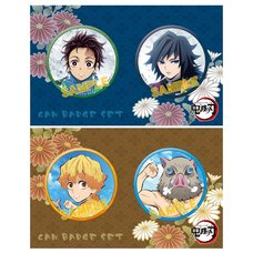 Kimetsu no Yaiba Pin Badge Set