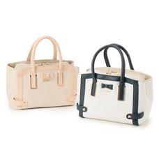LIZ LISA Two Color Tote Bag
