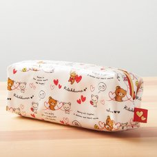 Rilakkuma Pencil Pouch (Full of Hearts)