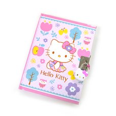 Hello Kitty Happy Woods Locking Diary