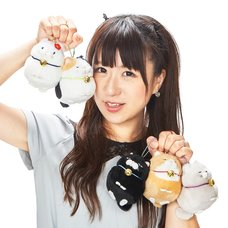Hige Manjyu Bell Cat Plush Collection (Ball Chain)
