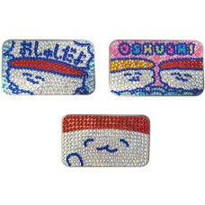 Oshushidayo! Sparkly Tin Cases