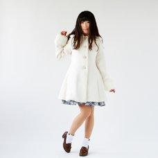 LIZ LISA Lace Trim A-Line Coat