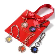 Evangelion x The Kiss A.T. Field NERV Mark Bag Charms
