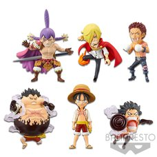 One Piece World Collectable Figure -Battle of Luffy Whole Cake Island-