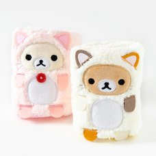Rilakkuma Motto Nonbiri Neko Plush Hand Towels