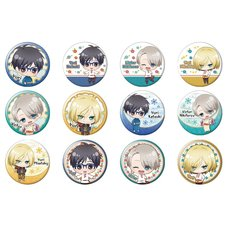 Yuri!!! on Ice Character Badge Set: Uniform Ver.