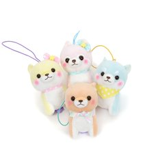 Mameshiba San Kyodai Funwari Yume no Kuni Vol. 2 Dog Plush Collection (Mini Strap)