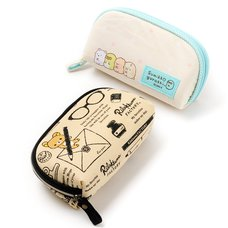 Glasses Case (Zipper Type) | Rilakkuma/Sumikko Gurashi