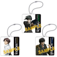 Psycho-Pass: Sinners of the System Acrylic Keychain Collection