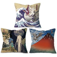 Monster Hunter Ukiyo-e Cushion Collection