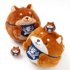 Chuken Mochi Shiba Manmaru Plush Collection
