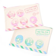 Hetalia: The World Twinkle Multi Pouches