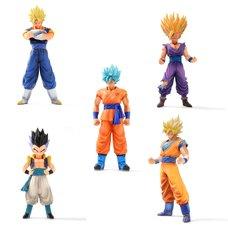 Dragon Ball Master Stars Piece Figure Collector's Set