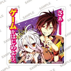 MF Bunko J No Game No Life Diecut Sticker