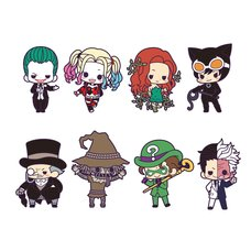 DC Universe Rubber Strap Collection: Villains Box Set