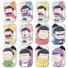 Osomatsu-san Anime Edition Character Badge Collection