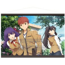 Fate/stay night: Heaven's Feel Sakura Shirou Rin A1-Size Tapestry