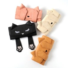 Peek-a-Boo Pooh-chan Long Wallet