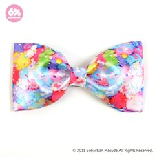 6%DOKIDOKI Colorful Rebellion Pastel Big Ribbon Clip & Brooch