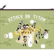 Attack on Titan Yuru Parade Pouch