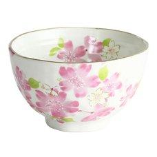 Hana Misato Mino Ware Rice Bowl
