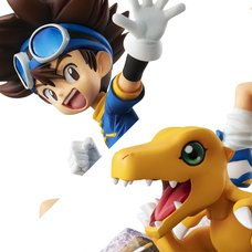 G.E.M. Series Digimon Adventure Taichi Yagami & Agumon: 20th Anniversary Ver.