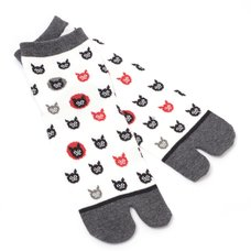 Nagomi Modern Women's Cat Tabi Socks