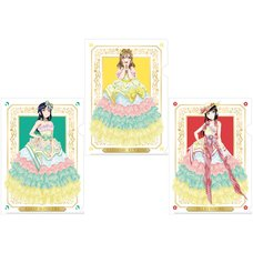 Love Live! School Idol Store AZALEA Victory Memorial Clear File Set