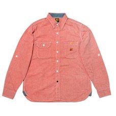 Super Mario Bros. Chambray Shirt (Red)