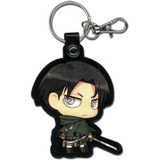 Attack on Titan SD Levi Keychain