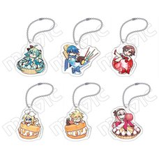 Vocaloid Acrylic Keychain Charm Collection (NEGI Ver.)