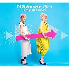 Miyuki Hashimoto 15th Anniversary Best Album: YOUnison 15→ (2-Disc Set)