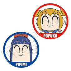Pop Team Epic Badge Set